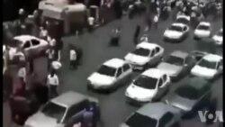 تجمع مردم معترض در شیراز با شعار مرگ بر دیکتاتور