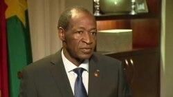 """Blaise Compaoré : """"Le débat sur la légalité du referendum est derrière nous"""""""