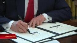 Trump ký lệnh trừng phạt 'mạnh tay' lên Iran