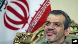 Hassan Dannaie Fir, Iran's ambassador to Iraq, said he expects the two American hikers being held in Iran on espionage charges to be released 'very soon,' during an interview with The Associated Press in Baghdad, Iraq, August 4, 2011