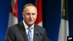 新西兰总理约翰·基