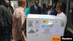 До столиці Конго Кіншаси привезли експериментальну вакцину від Еболи