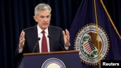 美國聯邦儲備局主席鮑威爾(資料照片)