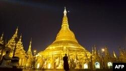 Ngôi chùa Phật Giáo Shwedagon nổi tiếng nhất của Miến Điện