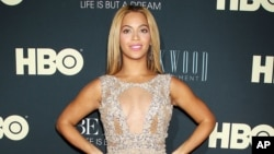 "Beyonce at the premiere of her HBO documentary "" Beyonce: Life is But a Dream,"" at the The Ziegfeld Theatre in New York."
