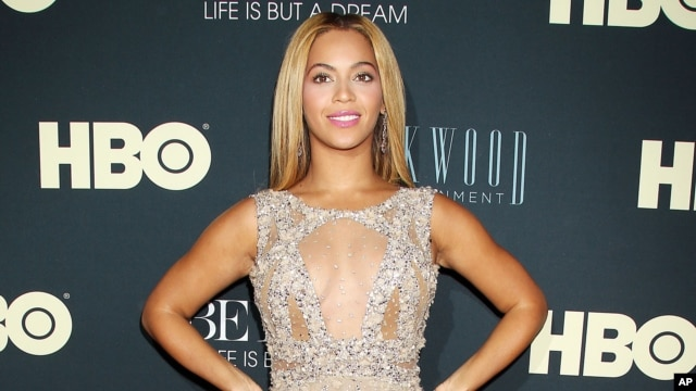 Beyonce at the premiere of her HBO documentary