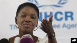 UN humanitarian chief Valerie Amos