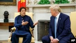 صدراعظم عمران خان ویلي چې ولسمشر ټرمپ سره یې د کشمیر په هکله خاصې خبرې نه دي کړي.