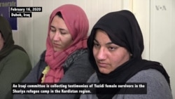 Yazidi Female Survivors of IS Massacre Seek Protection Through Iraqi Parliament
