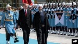سفر یک روزه رئیس جمهوری ایران به ترکیه در آوریل ۲۰۱۶