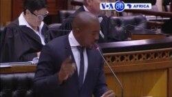 Manchetes Africanas 11 Novembro 2016: Zuma sobrevive no Parlamento