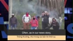 Học từ vựng qua bản tin ngắn: Turmoil (News Words)