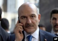 Menteri Dalam Negeri Turki, Suleyman Soylu. (Foto: dok).
