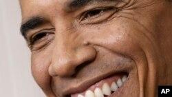 Президент Обама на ежегодном ужине клуба «Гридирон» (Gridiron Club