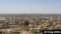 Mandhari ya mji wa Hargeisa huko Somaliland. Machi 29, 2016.