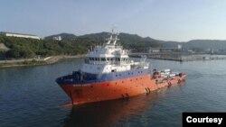 Kapal penyelamat Mega Bakti berangkat dari Malaysia, Kamis, 22 April 2021, diperkirakan tiba di Bali hari Minggu, 24 April 2021. (Foto: Tentara Laut Diraja Malaysia)
