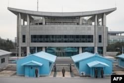 分割朝鲜南北的非军事区分界线