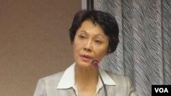 台湾在野党国民党立委黄昭顺 (美国之音张永泰拍摄)