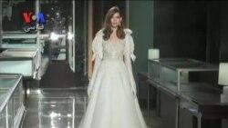 طراح لبنانی تبار، از لباس عروس مشکی برای سال جدید پرده برداری کرد