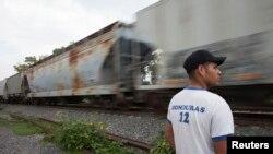 Un migrant du Honduras cherchant à gagner les Etats-Unis (Photo Reuters)