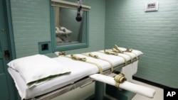 Ruang pelaksanaan hukuman mati di Huntsville, Texas (Foto: dok).