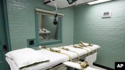 Suasana ruang eksekusi hukuman mati di Huntsville, Texas (Foto: dok).