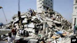 تخریبات زلزله پاکستان