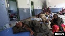 Trẻ em Somalia bị dịch tả trong bệnh viện ở thủ đô Mogadishu