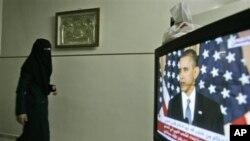Για «εκπληκτική αλλαγή» στη Μέση Ανατολή και Βόρεια Αφρική έκανε λόγο ο Πρόεδρος Ομπάμα