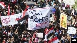 Ο στρατός της Αιγύπτου ζητά τερματισμό των απεργιών
