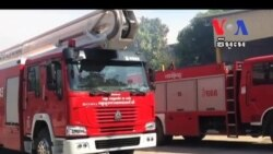 Fire Destroys Paper Factory, None Injured