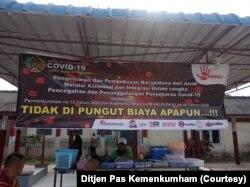 Sosialisasi aturan pelepasan napi di Tanjung Pinang. (Foto: Ditjen Pas Kemenkumham)