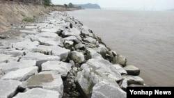 지난 1일 인천 교동도 해안 모습. (자료사진)