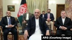 Le président Ashraf Ghani le 24 mars 2020.