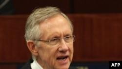 Лидер демократического большинства в Сенате США Гарри Рид (архивное фото)