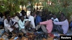 Переміщені особи в місії ООН в столиці Південного Судані Джубі