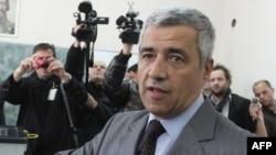 FILE - Kosovo Serb politician Oliver Ivanovic is seen in a Nov. 3, 2013, photo.