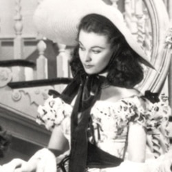 """Actress Vivien Leigh in """"Gone with the Wind"""""""