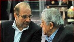 عزت الله انتظامی همراه با قالیباف شهردار تهران، مبتکر جشنواره فیلم شهر