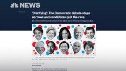 Кандидаты от демократов: ровно десять