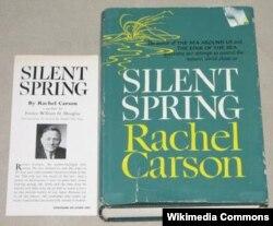 1962년 출판된 레이첼의 저서 '침묵의 봄 (Silent Spring)'