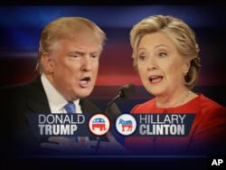Donlad Tramp - Hillari Klinton
