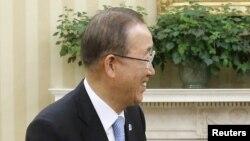 Ban Ki-moon, secrétaire général des Nations Unies (Reuters)