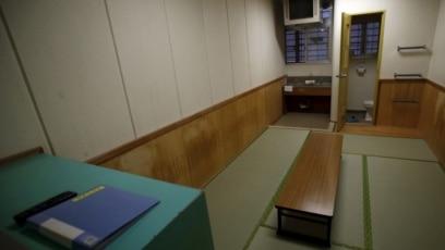 Một trong những phòng giam tại Trung tâm Di trú miền Đông, thuộc quận Ibaraki, đông bắc Tokyo, Nhật Bản.