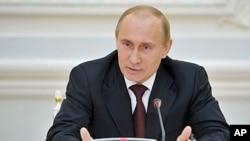 Tổng thống Putin nói ông phải hoàn tất việc chỉ định nội các cho chính phủ mới của ông