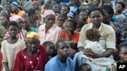Refugiados dos países vizinhos na República Democrática do Congo (Arquivo)