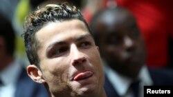 Cristiano Ronaldo de Real Madrid, 22 mai 2017.