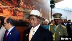 FILE - Uganda's President Yoweri Museveni (file photo)