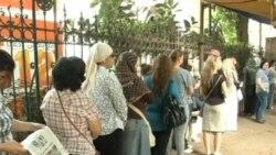 粵語視頻﹕ 埃及人在總統決選中投票
