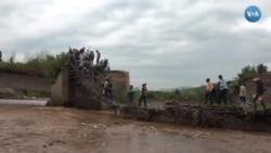 DRC: Abakoresheje ibarabara rya #Uvira- #Bukavu bahangayikishijwe n'ikaroro ca Sange congeye gusenyurwa n'imvura